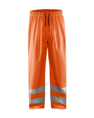 Blaklader 1384 High Vis Rain Trousers (orange)